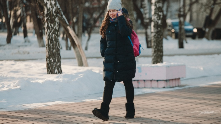 В школах Тюмени из-за морозов отменили занятия у младшеклассников