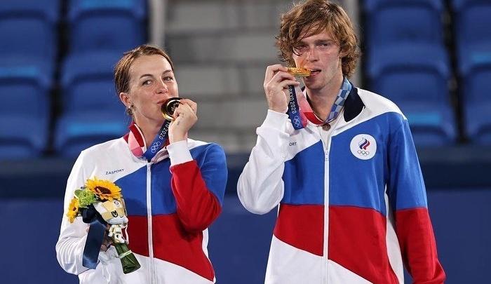 Самарская теннисистка Анастасия Павлюченкова завоевала золото на Олимпиаде в Токио