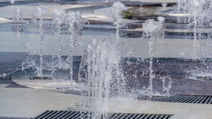 В Перми 1 мая запустят фонтаны. График их работы