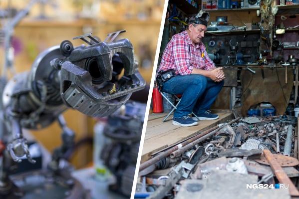 Андрей Покров собрал первого робота 6 лет назад