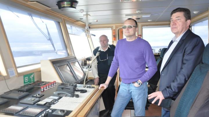 Как город, только теплоход: первые лица Новодвинска оценили мощь одноименного судна