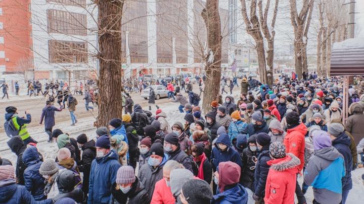 В Перми после шествия в поддержку Навального подростка почти двое суток держали в спецприемнике