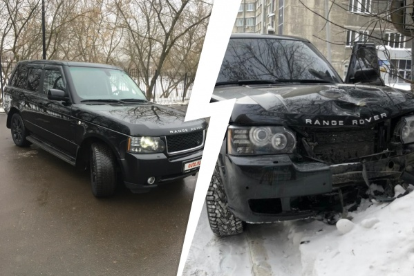 На фото слева — так автомобиль выглядел еще несколько месяцев назад. Справа — после смертельного ДТП на Красном проспекте