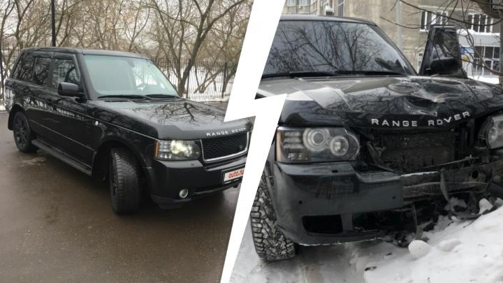 «Они безбашенные»: Range Rover, сбивший насмерть женщину в центре Новосибирска, купили всего 1,5 месяца назад