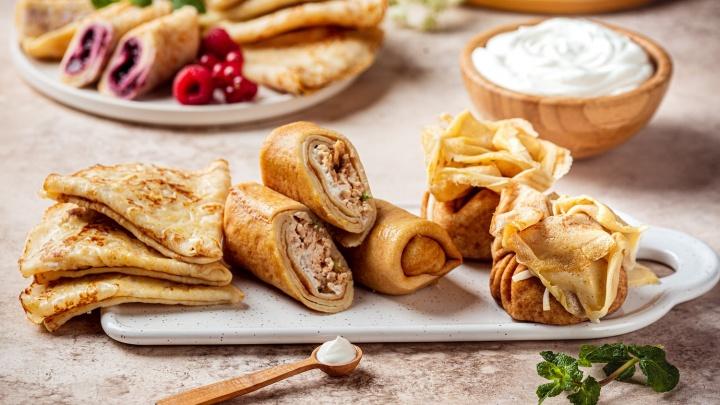 Блинчики с икрой, рыбкой, медом и вареньем: «ВкусВилл» пригласил ярославцев на масленичную дегустацию