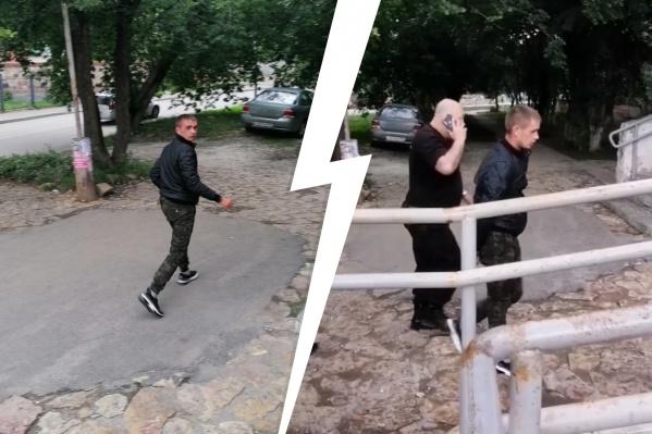 В Березовском задержали дебошира