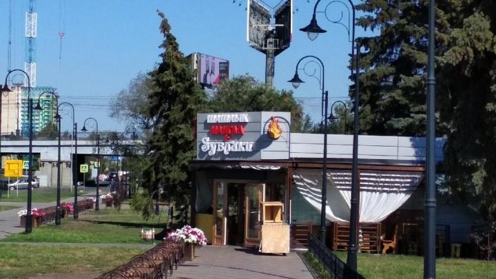 Суд запретил работать кафе «Sувлаки» в центре Омска