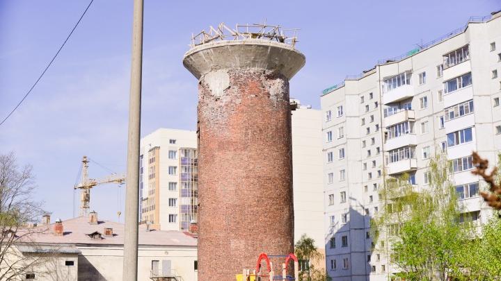 Выбран новый подрядчик для сноса водонапорной башни на Новгородском проспекте Архангельска