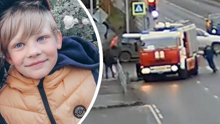 В 2020-м в Архангельске пожарная машина сбила ребенка. Родители высказались про возможное наказание