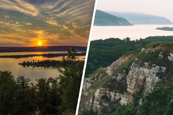 Самара славится на всю Россию своими чудесными видами на реку и горы