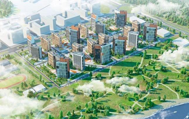 На правом берегу Визовского пруда появится новый квартал из 19 высоток