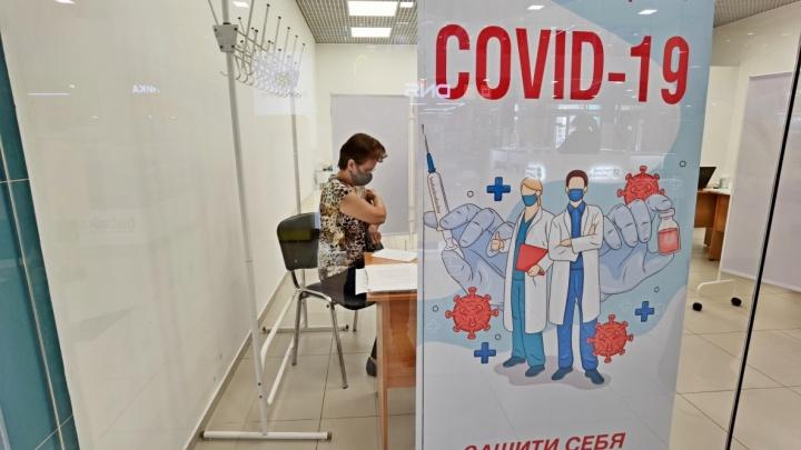 В курганском ТРЦ «Стрекоза» открыли пункт вакцинирования от COVID-19
