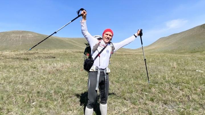 Путешественник из Уфы на четыре месяца ушел жить в горы