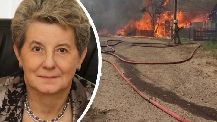 С бывшего мэра Канска сняли обвинения по одному из уголовных дел — за ущерб имуществу от пожаров