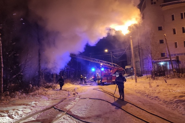 Последний пожар в переулке Водников случился 23 января