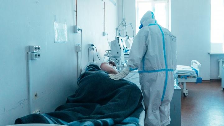 Впервые в Омской области от коронавируса умерли 11 пациентов за сутки