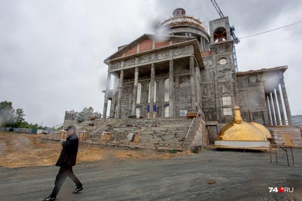 Храм строят на окраине Челябинска