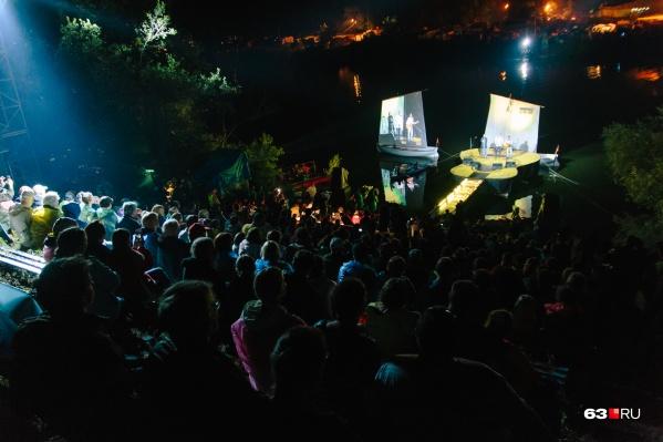 В самарском Минкульте заверили, что фестиваль не будет менять самарскую сцену-гитару на московскую прописку