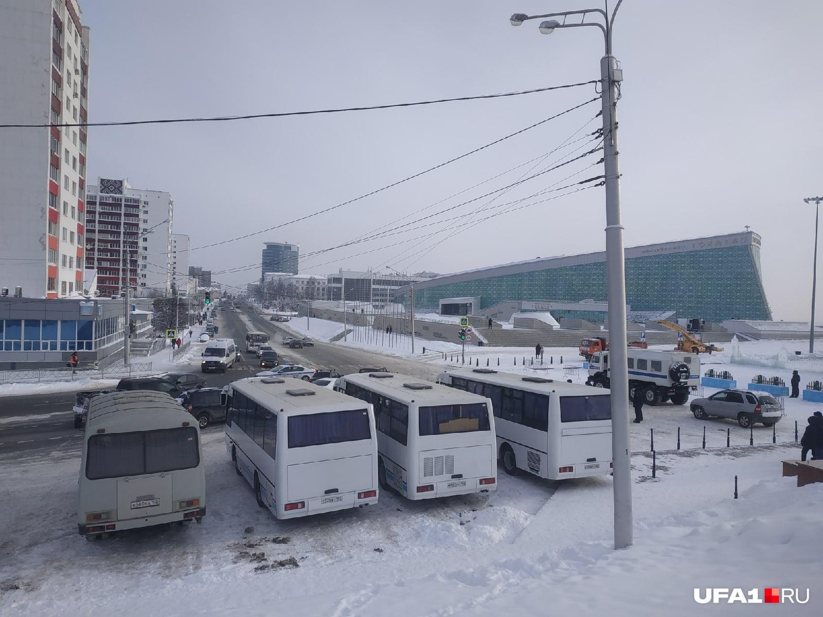Власти Башкирии хорошо подготовились к протестам