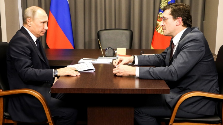 Владимир Путин поздравил Нижний Новгород с 800-летием