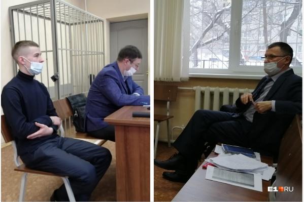 Адвокат потерпевшей стороны Василий Борисов (справа) считает, что возле «Американки» произошло расчетливое убийство