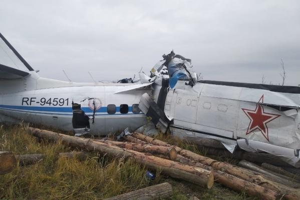 На борту самолета было 22 человека, 16 из них погибли