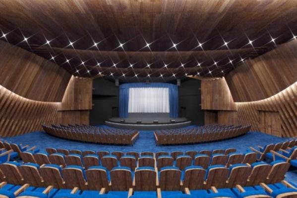 Так после обновления будет выглядеть зрительный зал омского ТЮЗа