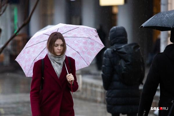 Осторожнее с зонтами — в субботу усилится ветер