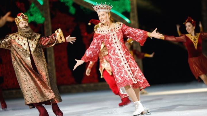 В Екатеринбурге пройдет закрытый показ ледового шоу, в котором играет Навка и поет Киркоров