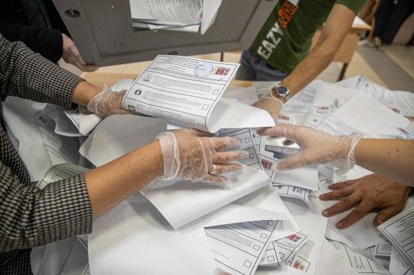 Предварительные итоги голосования составили по состоянию на 00:20 20 сентября