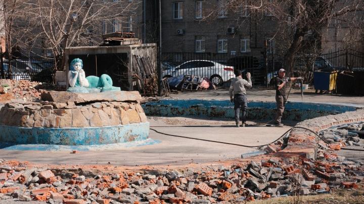 Горсад Пушкина уменьшат ради прогулочной зоны до драматического театра