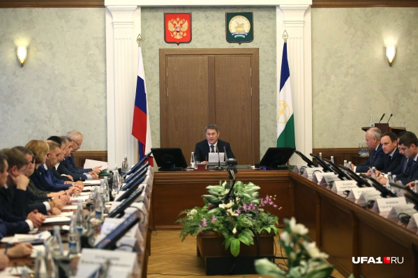 О череде перестановок Радий Хабиров объявил на оперативном совещании