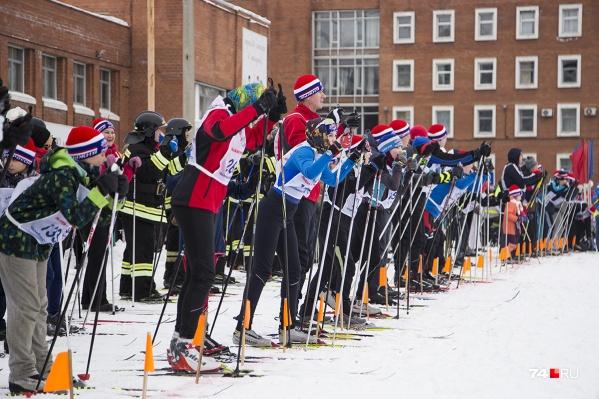 Лыжная гонка продлится с 11 до 15 часов