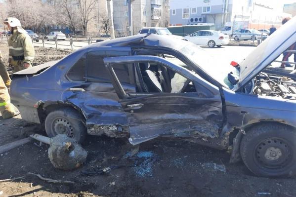 ДТП с иномарками произошло накануне в Заозёрном