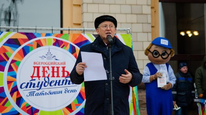 В Татьянин день ректор ЮУрГУ Александр Шестаков исполнил четыре желания студентов