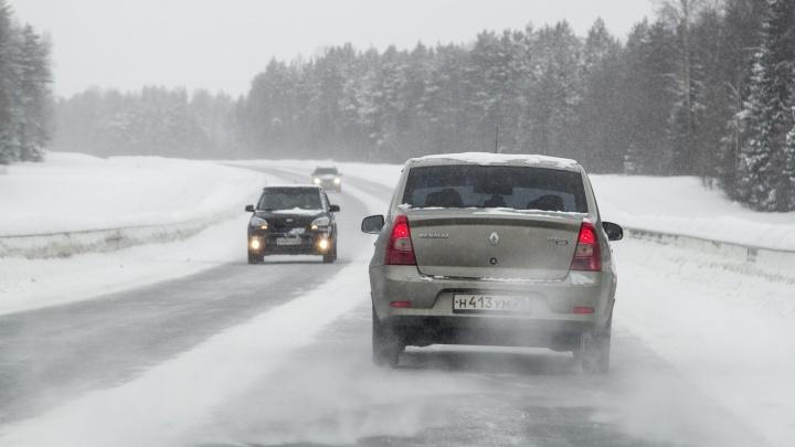 В Югре открыли движение на дорогах, запрещенное из-за непогоды. Остались лишь ограничения