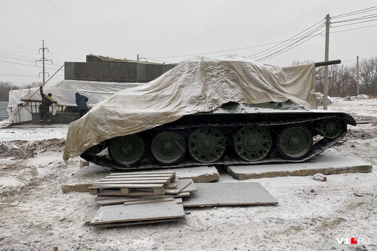 Памятник торжественно откроют 2 февраля