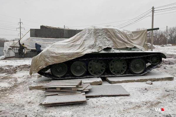 Отреставрированного «Челябинского колхозника» вернут на постамент