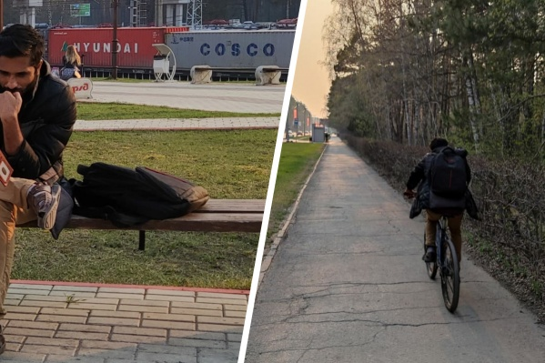 Сумку украли 7 мая, в этот деньВадакеппатту катался с другом на велосипеде