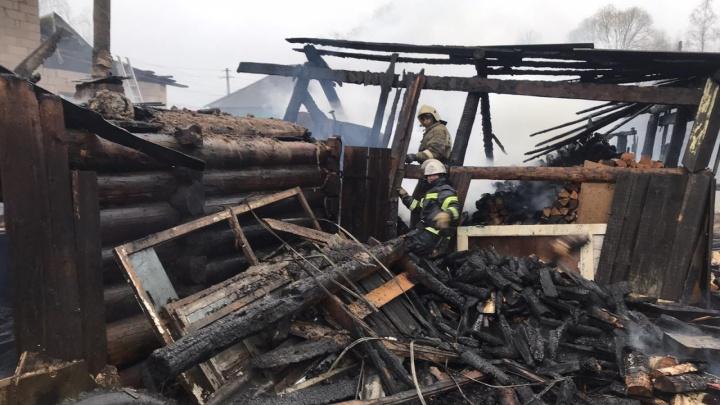 Дело о пожаре в Кудымкаре, где погибли восемь человек, будет расследовать федеральный СК