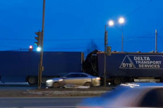 Авария произошла утром 28 января