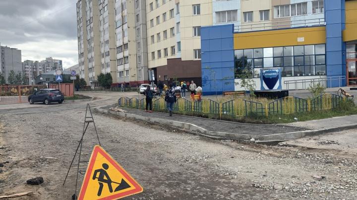 Шесть проблемных межквартальных проездов отремонтируют в Сургуте в сентябре