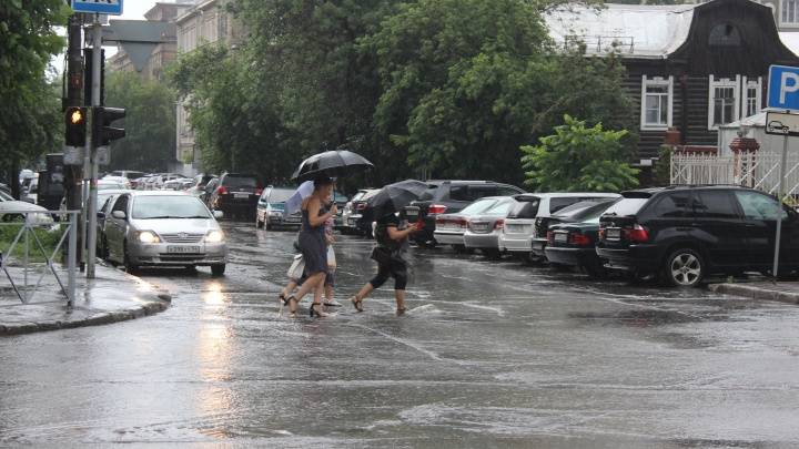 В Новосибирск идет сильный порывистый ветер — МЧС предупреждает горожан