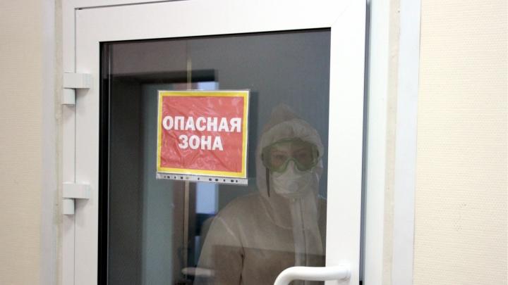 Омская область заняла первое место в Сибири по числу умерших от коронавируса в феврале