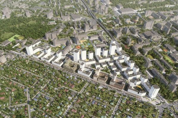 План комплексного развития территории в границах улиц Московской, Шаумяна и Фурманова