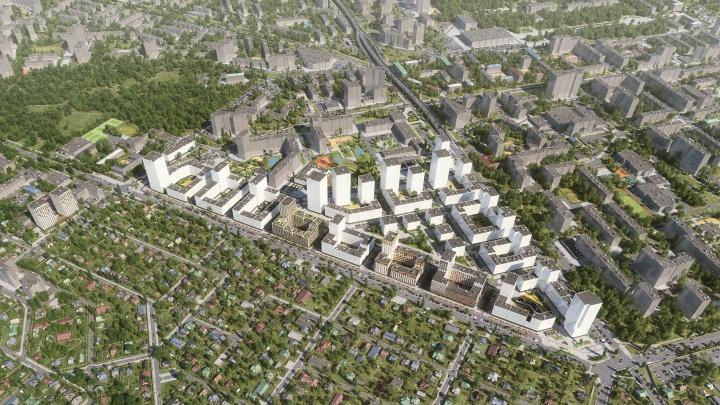 От «свердловских Черемушек» к европейской архитектуре: каким через 10 лет будет Юго-Запад Екатеринбурга