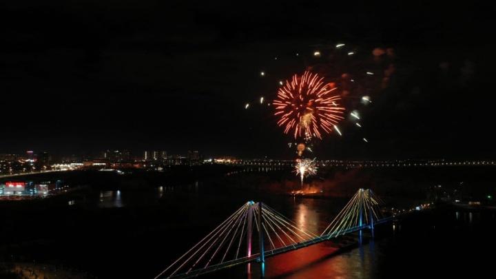76-й День Победы: праздник закончился грандиозным фейерверком