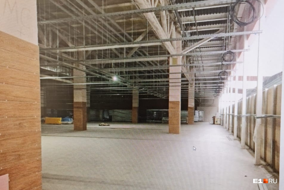 Зал займет площадь больше пяти тысяч квадратных метров