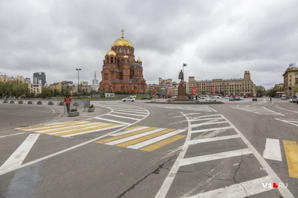 Ясных и солнечных дней в начале недели в Волгограде не будет