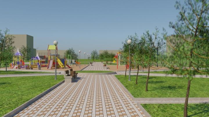 Начнем со сноса деревьев: в Кировском районе благоустроят вторую очередь парка «50 лет Октября»